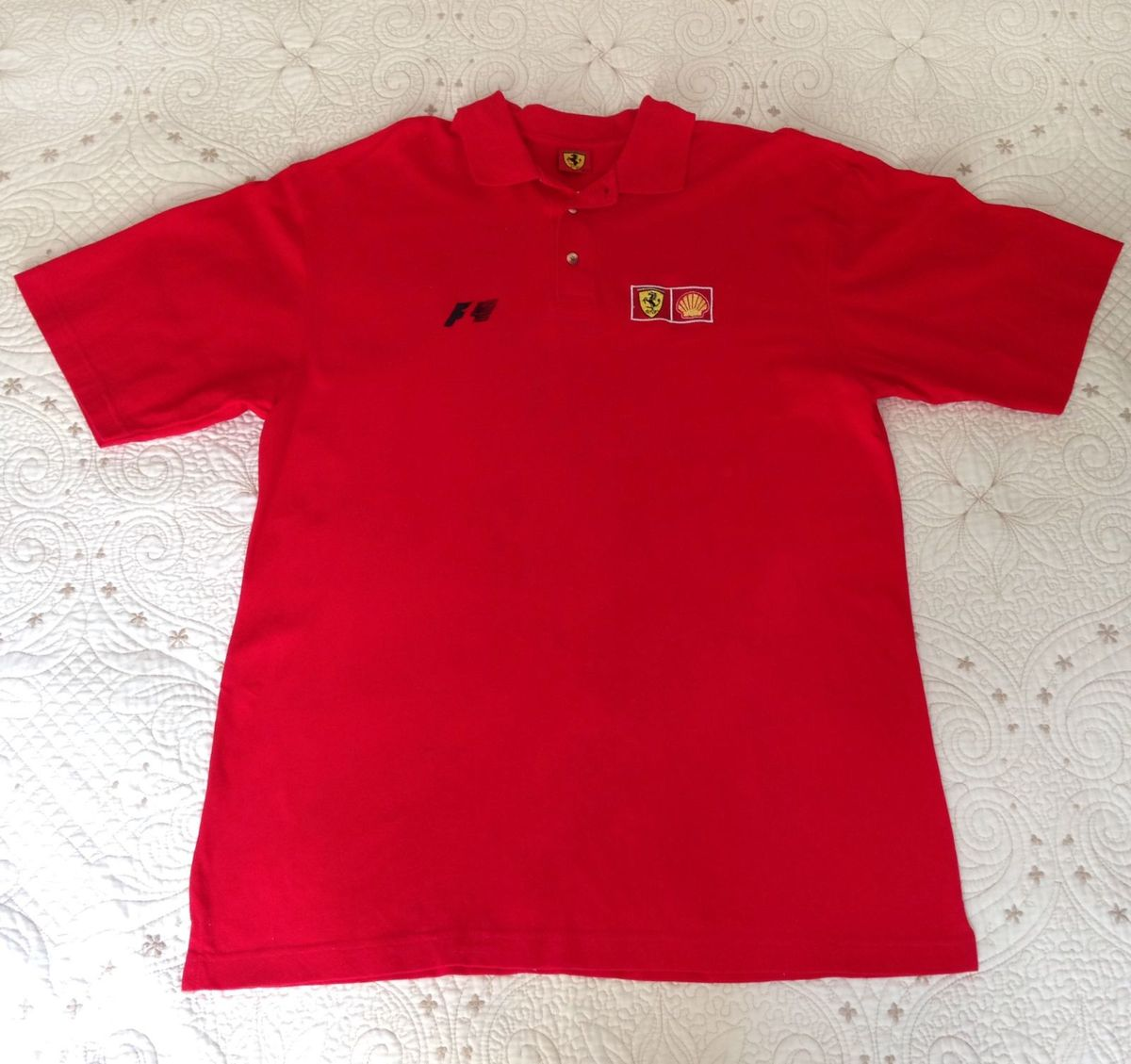 9da3374bbb camisa polo ferrari f1 original - camisas ferrari
