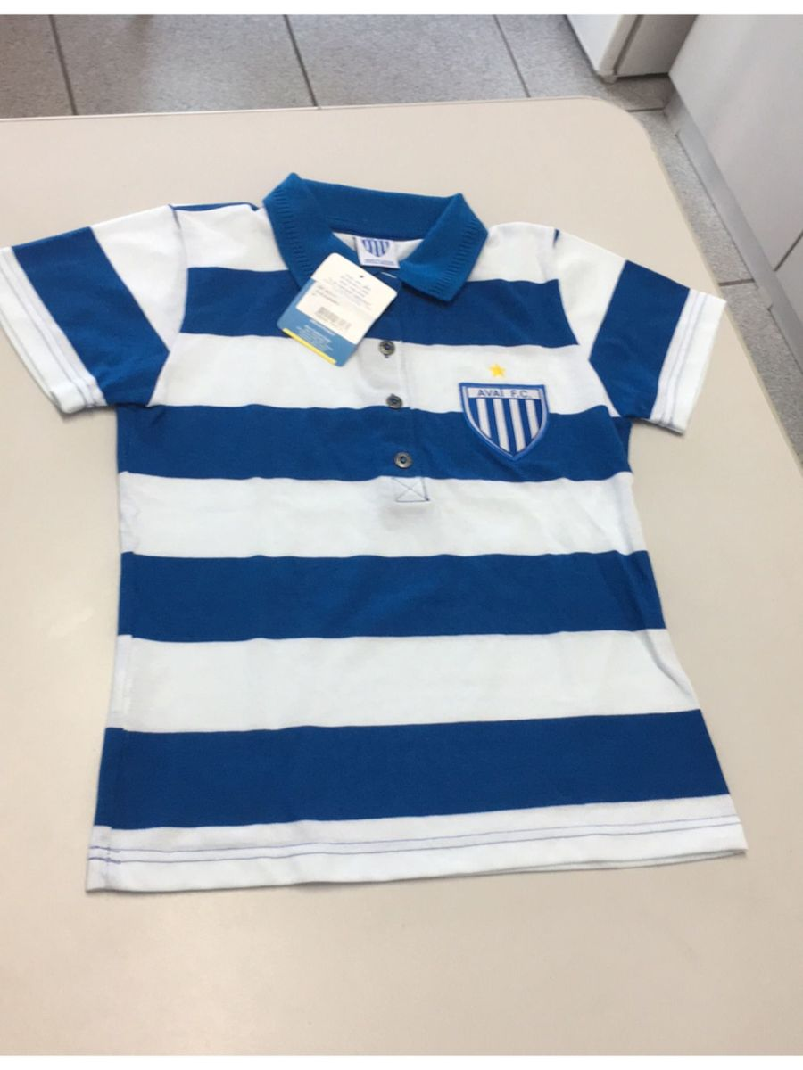 camisa polo infantil avai futebol clube m - infantil - menino avai d2f061b3291e5