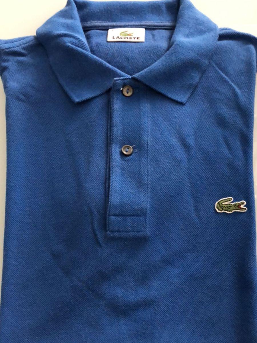 camisa polo lacoste. azul royal e lilás por 80,00. - camisas lacoste 01d88a541b