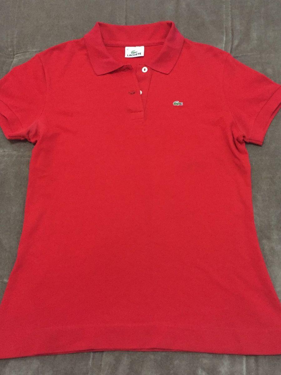 camisa polo lacoste feminina - original - camisas lacoste 5023634a34
