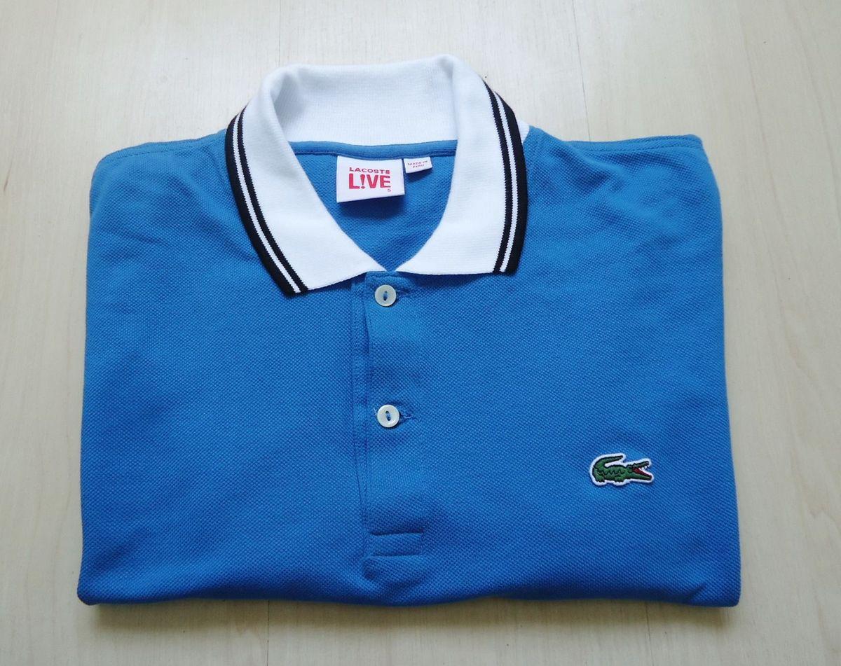 camisa polo lacoste live azul - camisas lacoste.  Czm6ly9wag90b3muzw5qb2vplmnvbs5ici9wcm9kdwn0cy81ntk4otmvztu1ntewmdlim2i2ztk2zwuzmdayzdmxyjkzmdc3nmyuanbn  ... 36cd22fc18
