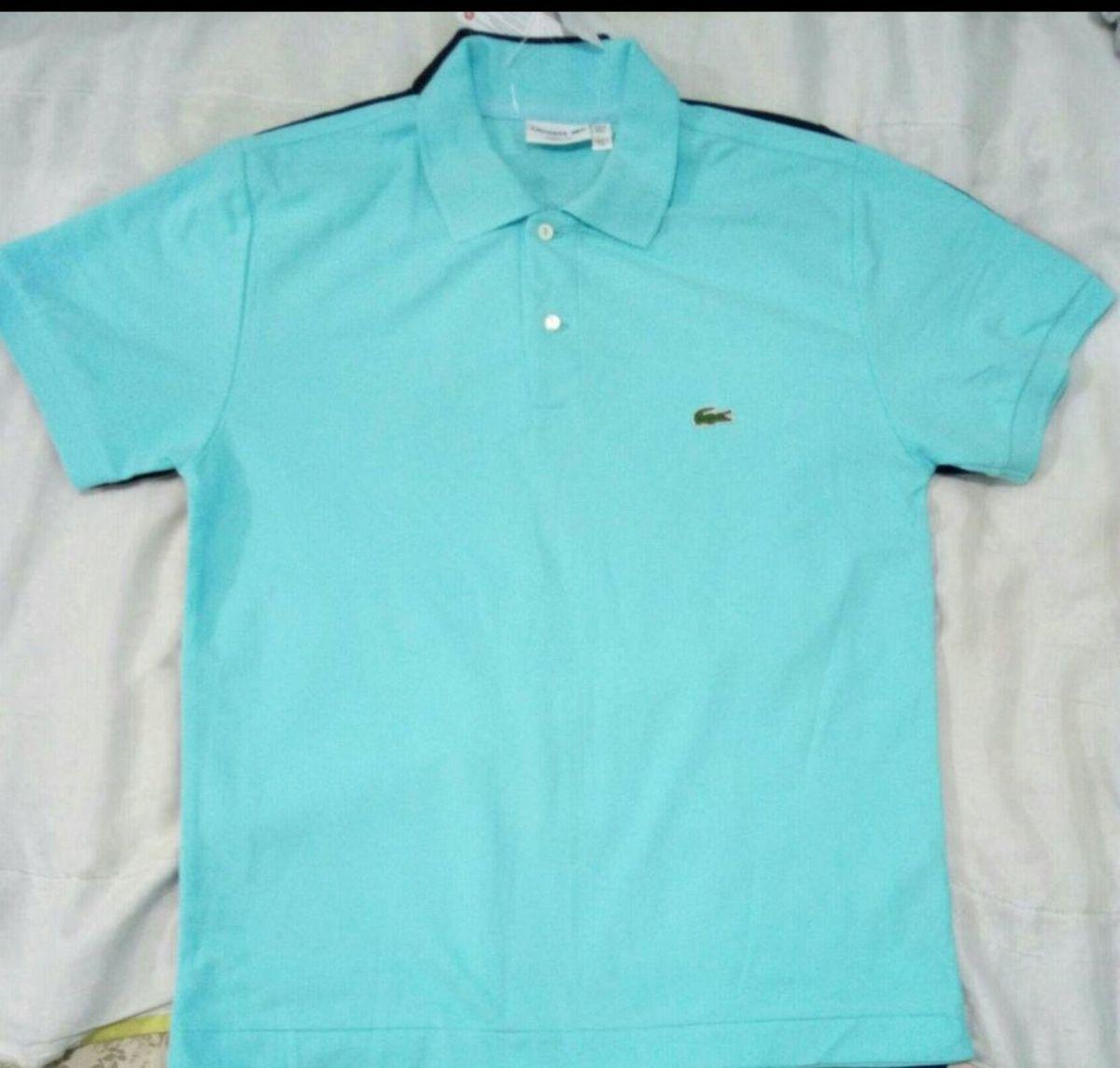 9bb3ae6e41 camisa polo lalá masculina azul marinho g - camisas outras