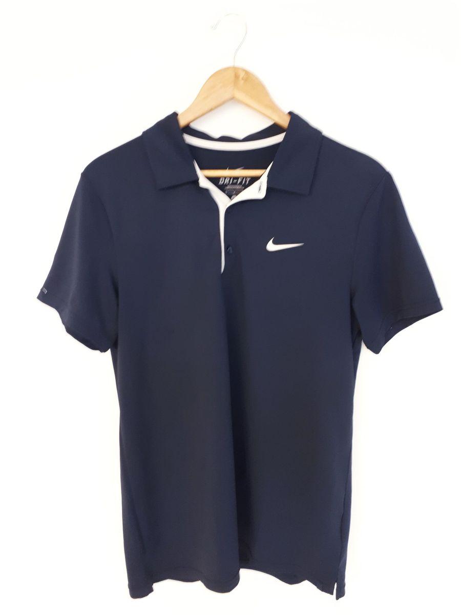 camisa polo lisa azul dri-fit - nike - camisas nike dffe3a97be3cc