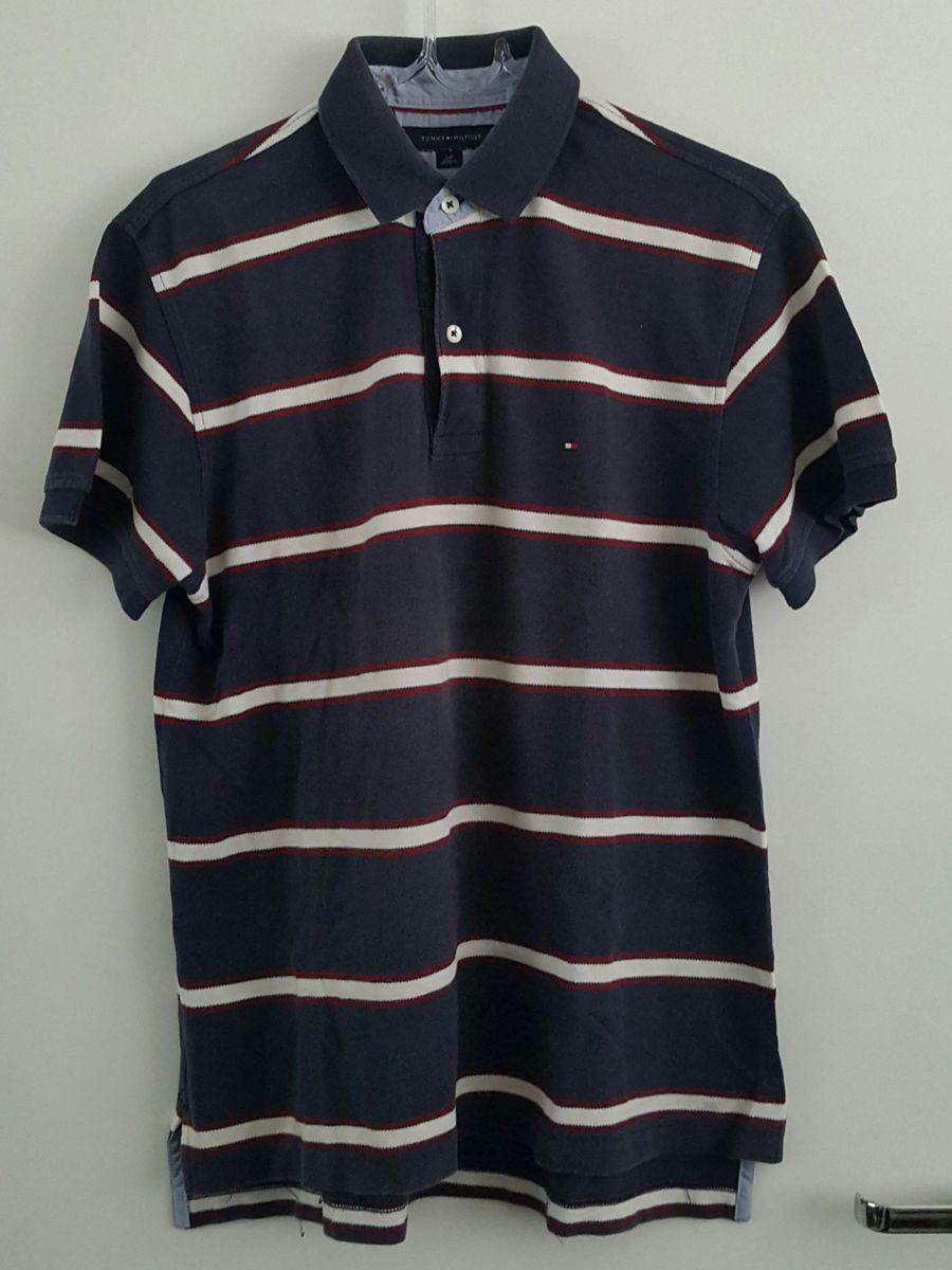Camisa Polo Listrada 529f68fcf2b34