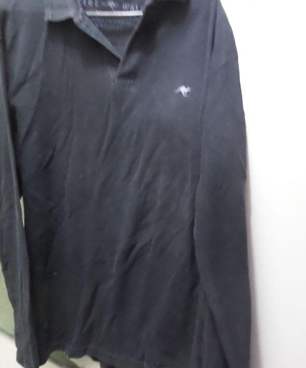a6a0b71b59 Camisa Polo Manga Longa da Side Walk