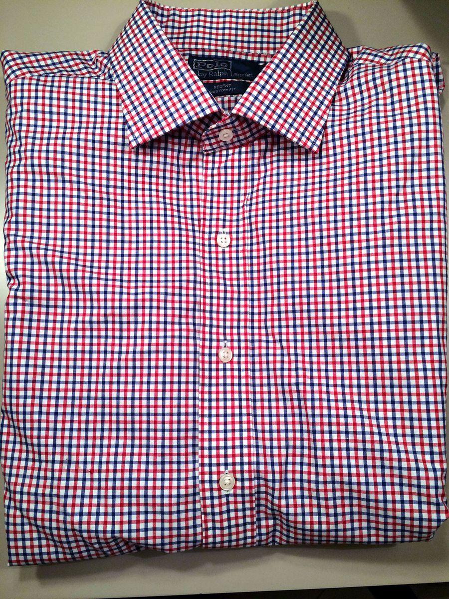 camisa polo ralph lauren xadrez - camisas polo ralph lauren b3fa88b3d0b