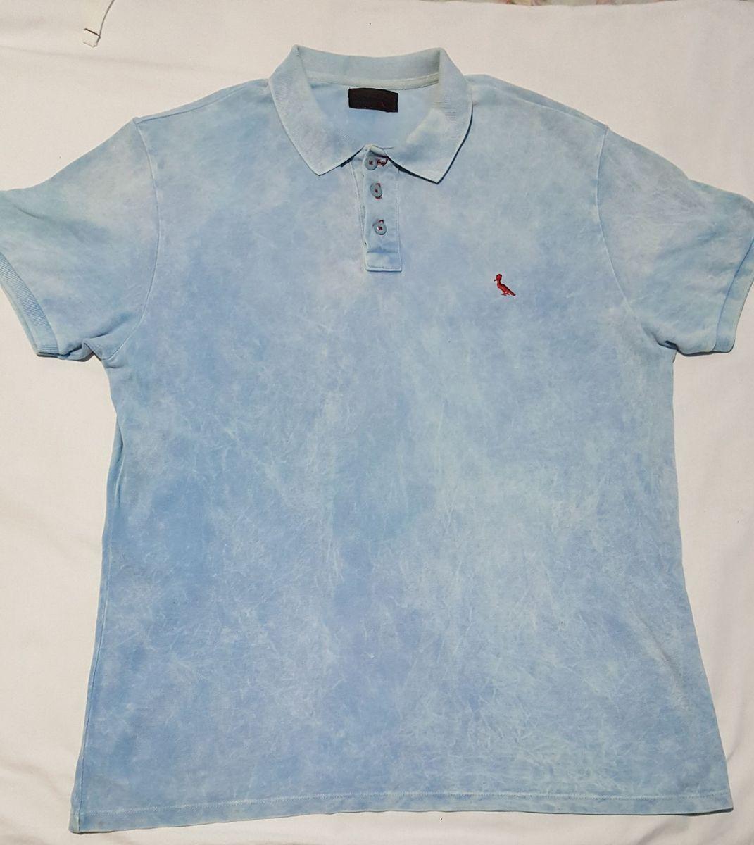 camisa polo rsv azul marinho g - camisas outras