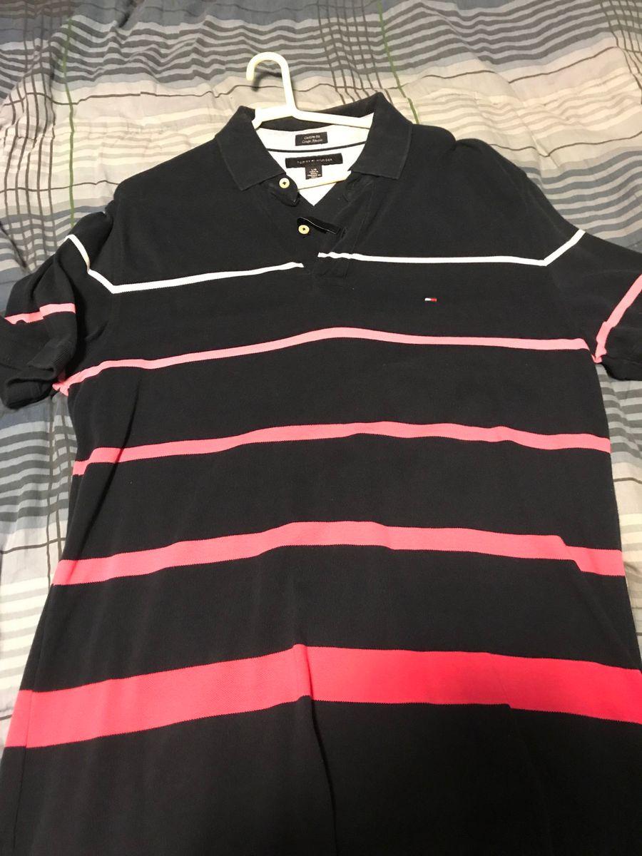 a60c9c794 camisa polo tommy hilfiger importada original - camisas tommy hilfiger