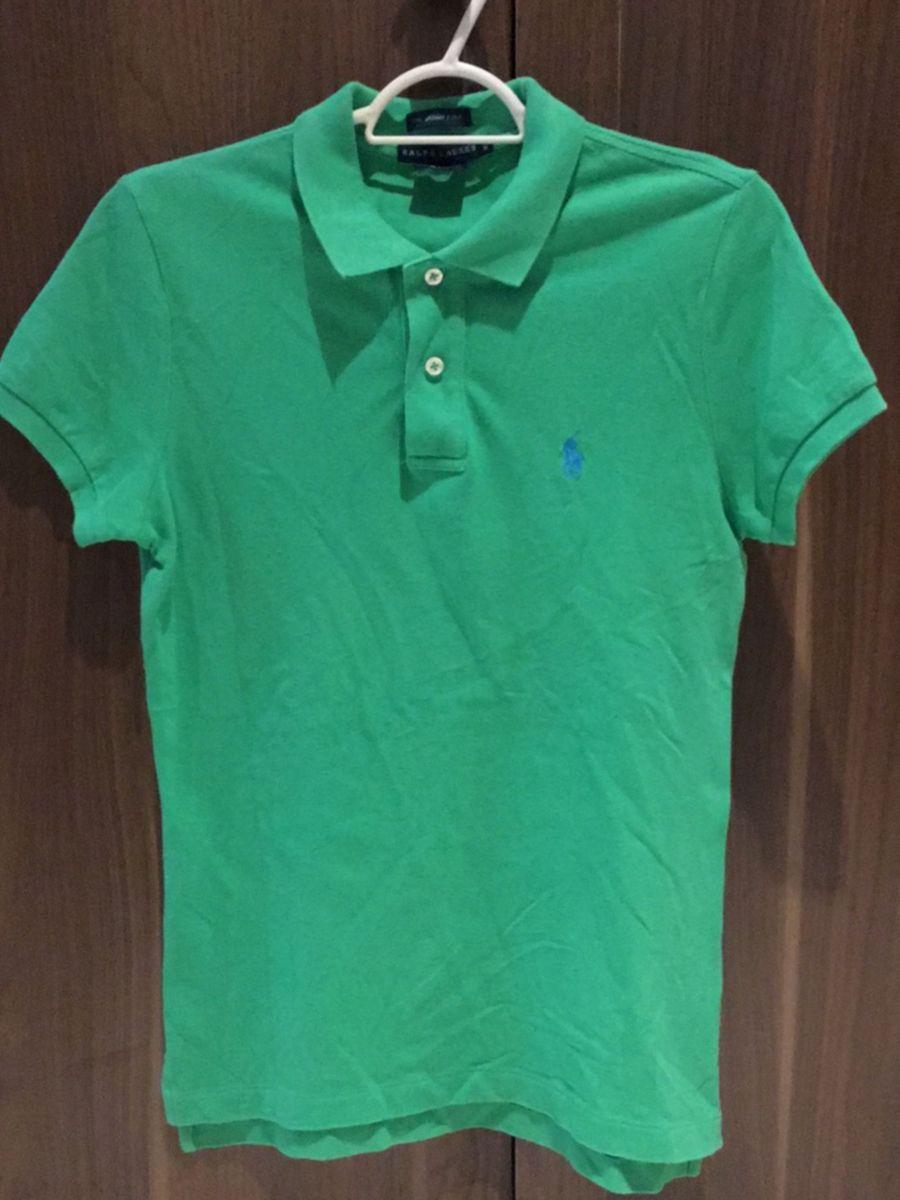 camisa polo verde ralph lauren - camisas ralph lauren b76db41b9842a