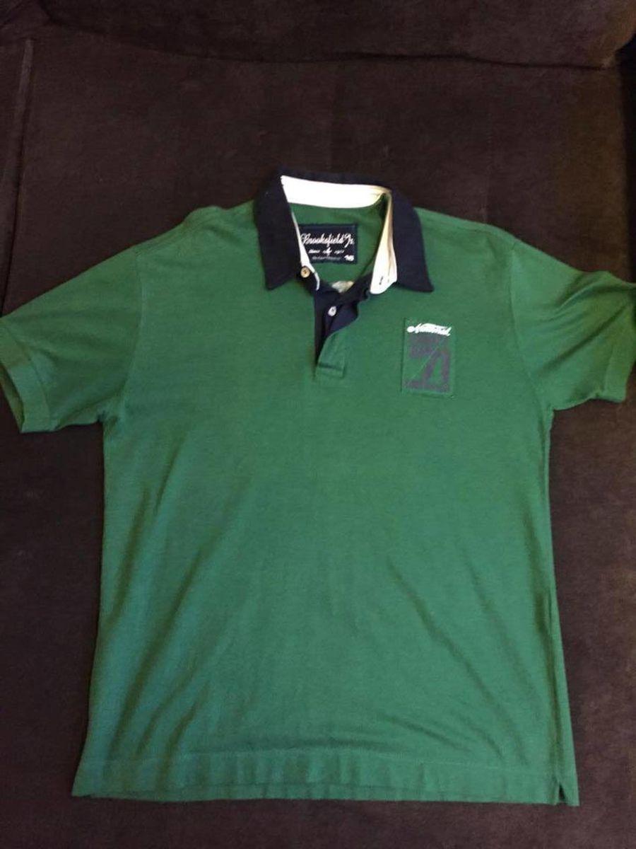 camisa polo verde - camisas brooksfield.  Czm6ly9wag90b3muzw5qb2vplmnvbs5ici9wcm9kdwn0cy81mtqzodcylzrjzgi4ogy1ymm4odu3nze1odgwmtmzmda4mmzknwq1lmpwzw  ... 5081c39c28a