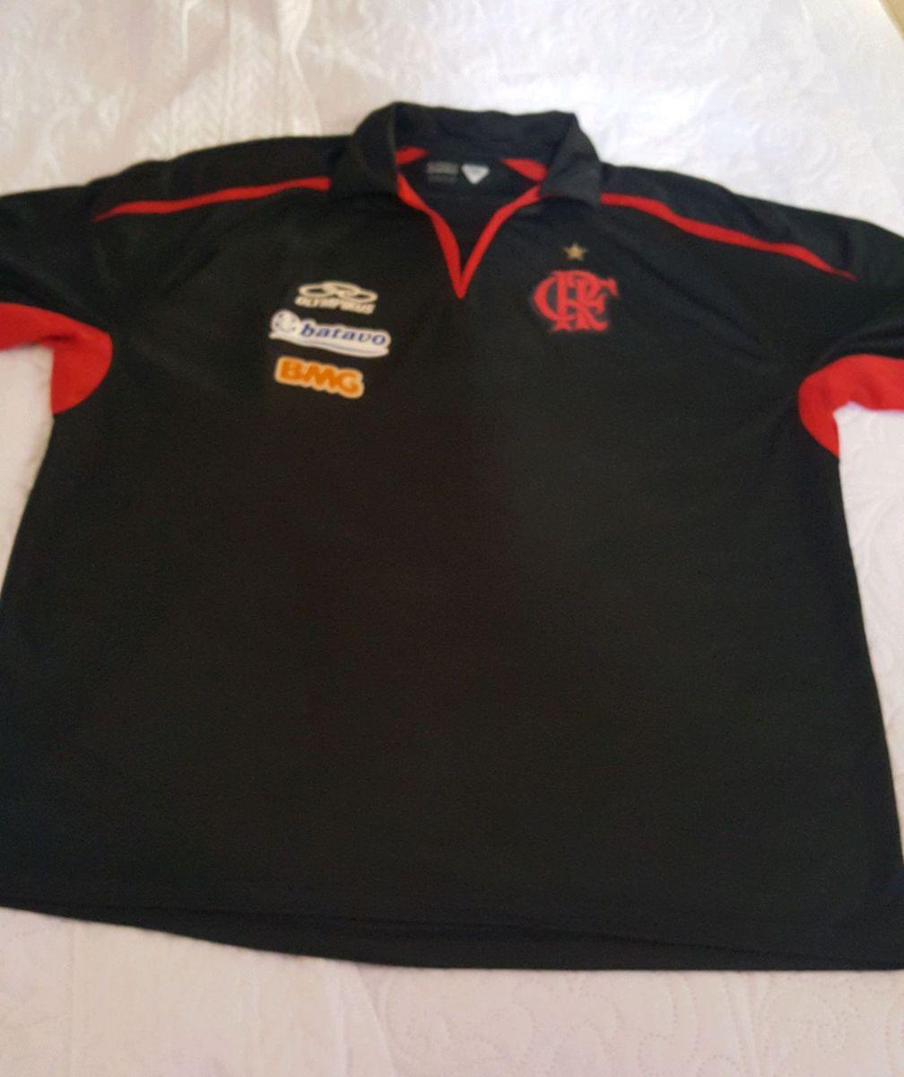 camisa polo viajem flamengo exa 2009 - camisas olympikus 80b44ce813f6c