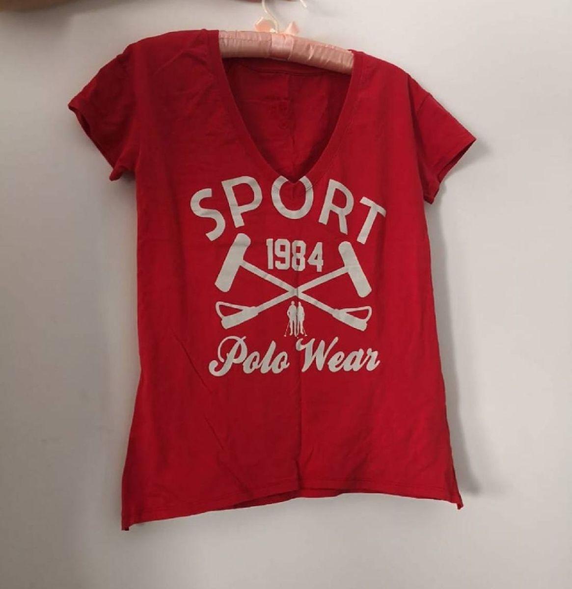 camisa polo wear vermelha - camisas polo wear