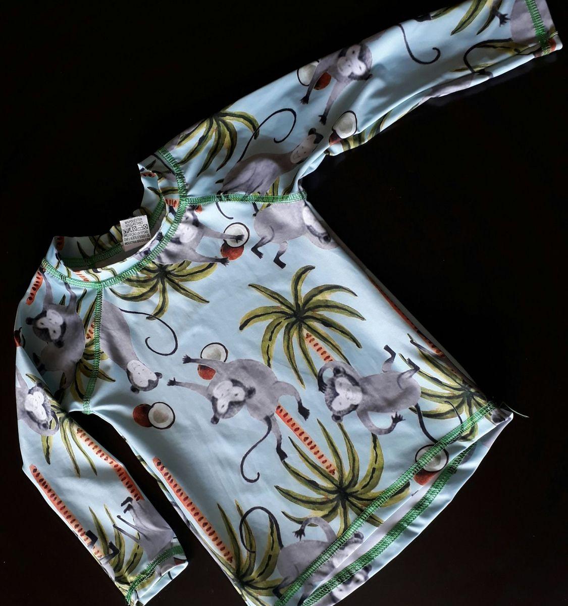 Camisa Proteção Solar Anti Uva Uvb para Bebê   Roupa Infantil para ... 06d08b4a7f