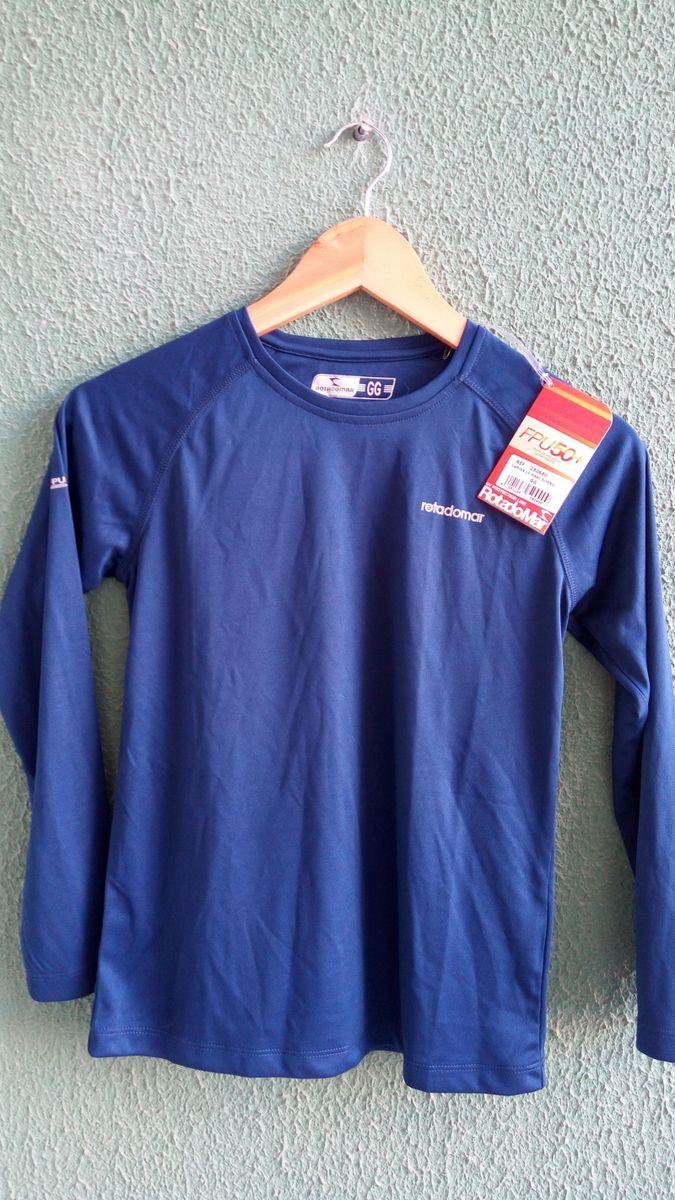 camisa infantil proteção solar fpu50+ rota do mar - menino rota do mar d62a0bf69d8