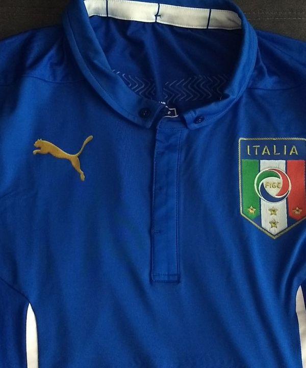 Camisa Puma Itália Home 2014 Modelo Jogador Actv Cod. 744287 - Raridade!  7dcac24ce4ec7