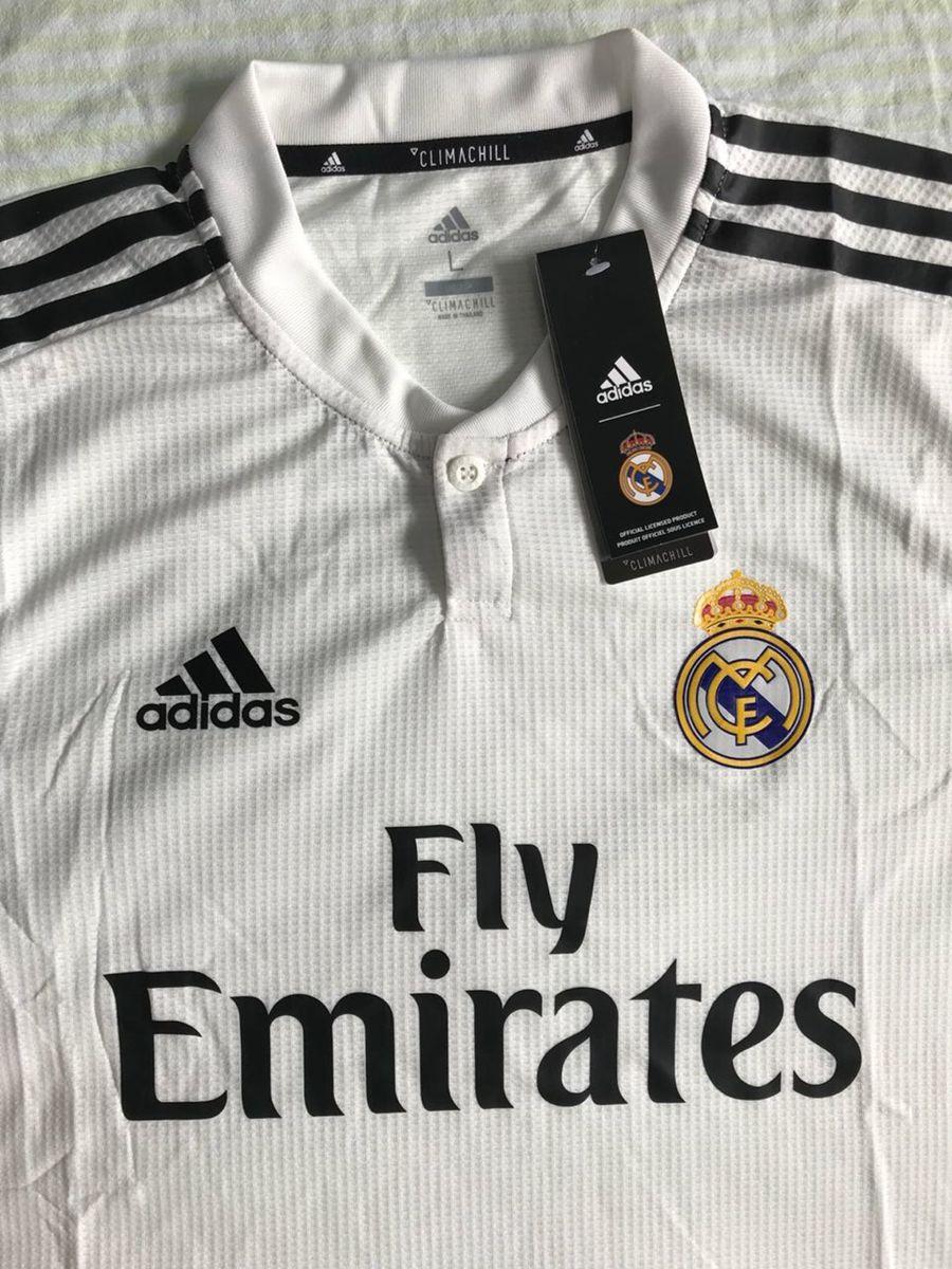 camisa real madrid 18 19 versão jogador! - esportes adidas 2033b92aaab16