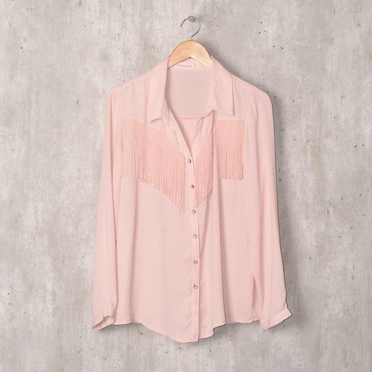 2e435eb6c6013 Camisa Rosa Claro