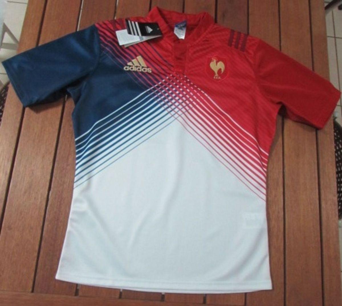 2a13f35007 camisa rugby seleção frança - esportes adidas.  Czm6ly9wag90b3muzw5qb2vplmnvbs5ici9wcm9kdwn0cy83mza4mjqylzbkyjcwmjjkngi5ndi1ndy0nmiyotq1zwqznja1ndjilmpwzw  ...