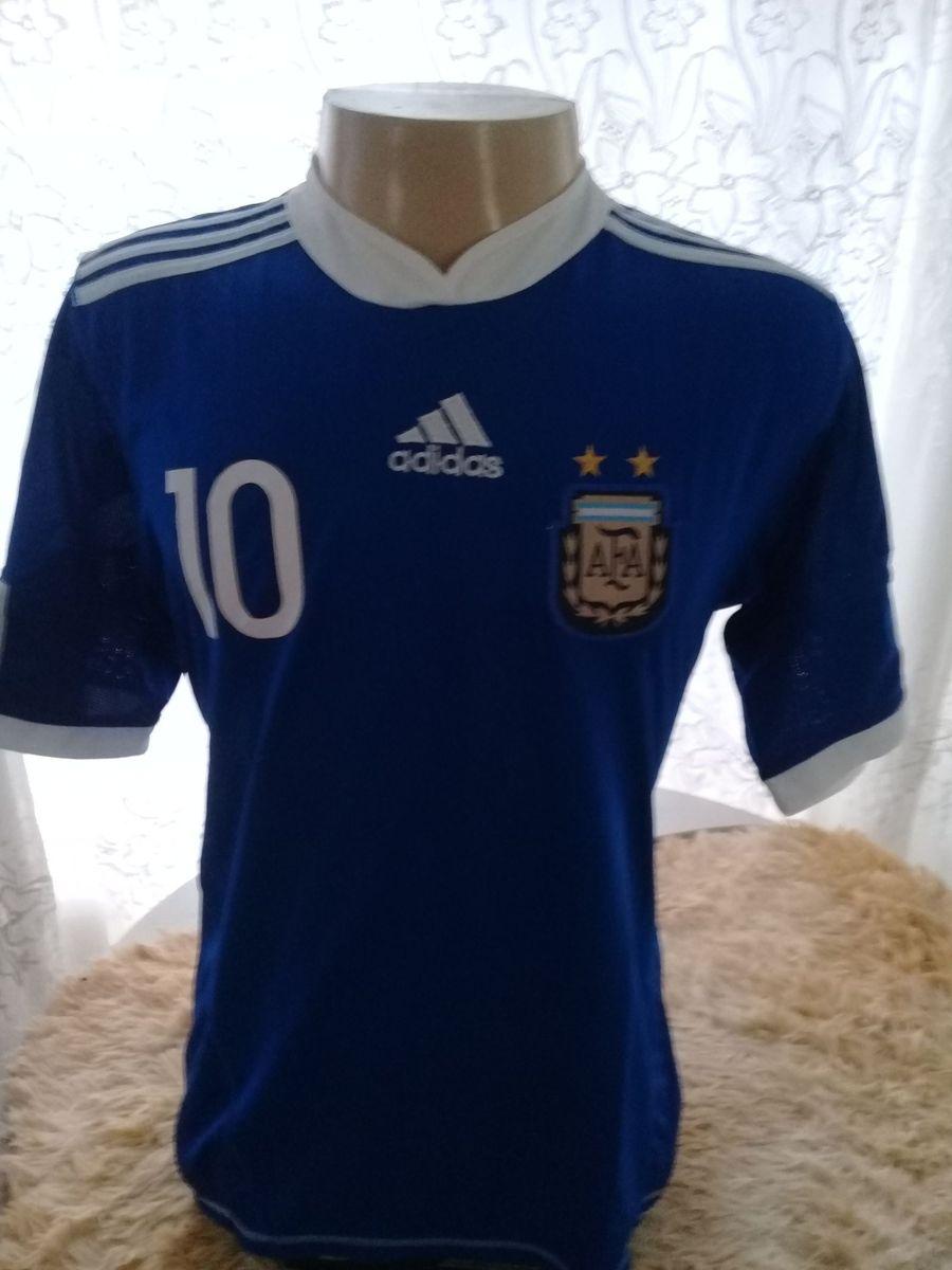 6514a6b663834 Camisa Seleção Argentina Azul Tam.gg | Roupa Esportiva Masculino ...