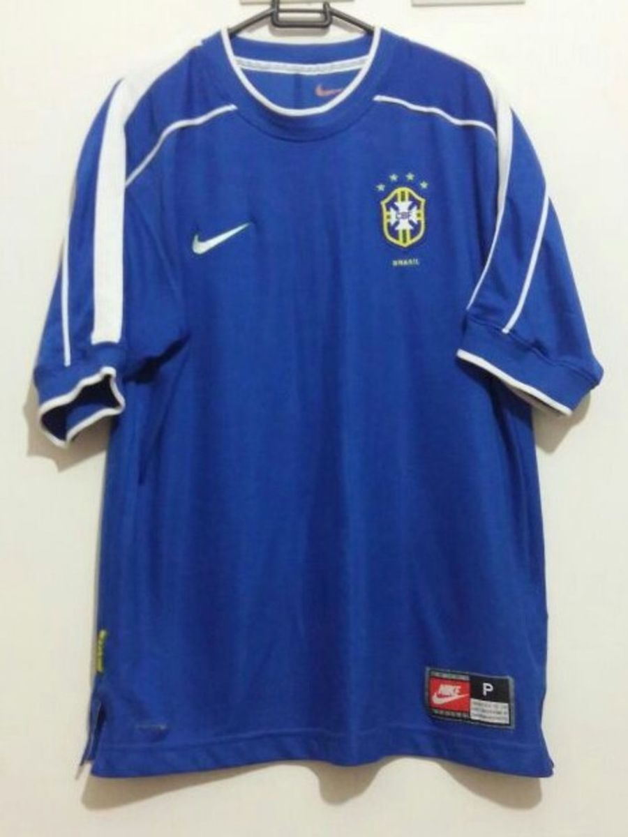 Camisa Selecao Brasileira 1998 Roupa Esportiva Masculino Nike Usado 21060225 Enjoei