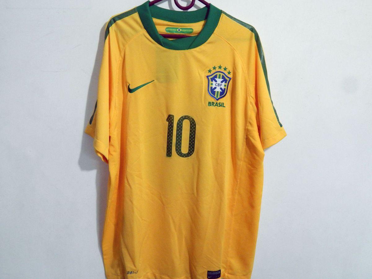 camisa seleção brasileira copa 2010 - esportes nike f312686324527