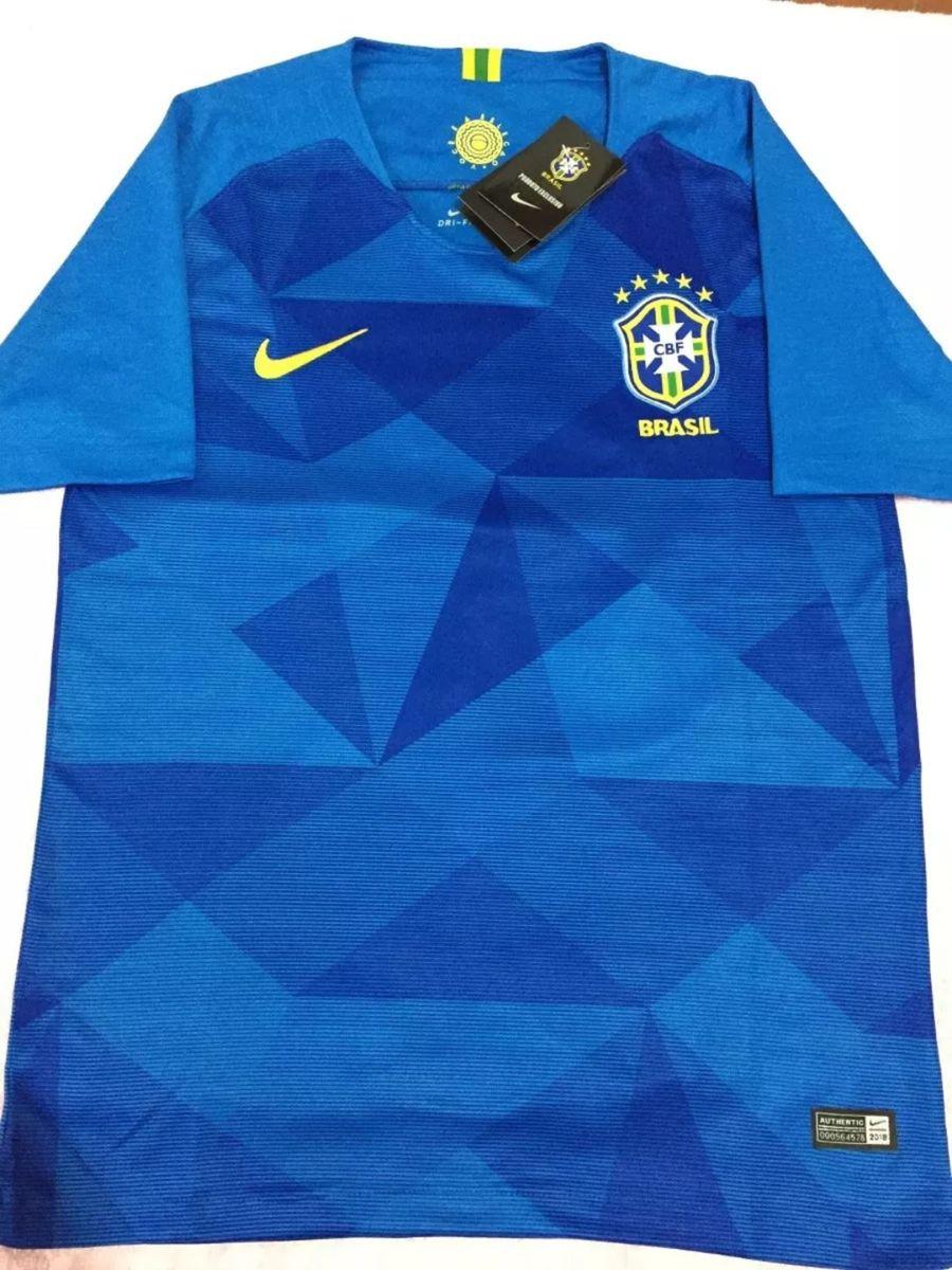 986aaf4faa camisa seleção brasileira ll 2018 s nº - oficial - esportes nike