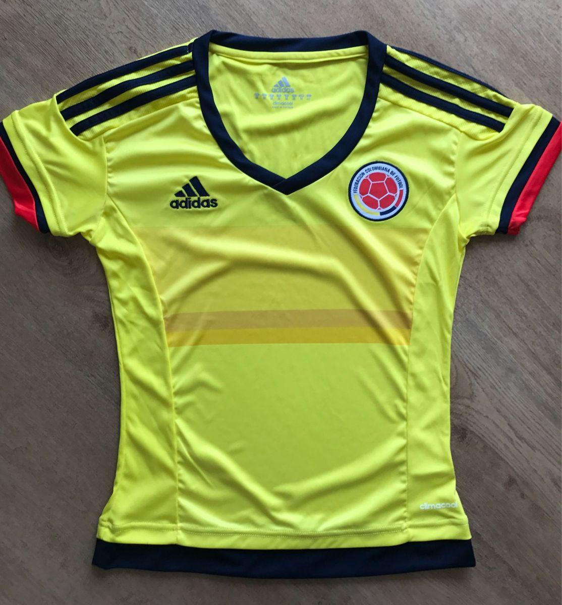 dcd72274e0c camisa adidas seleção colombiana de futebol - camisetas adidas