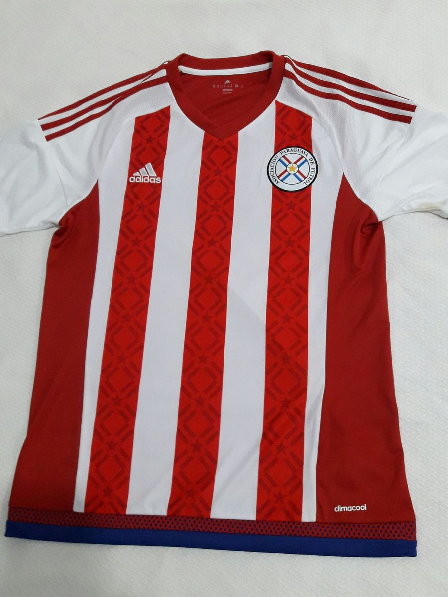 4bdde0b7a571e camisa seleção paraguai - esportes adidas.  Czm6ly9wag90b3muzw5qb2vplmnvbs5ici9wcm9kdwn0cy83ndqxotmyl2y3yzc2y2iynwzhodyyzty4ytlizwewotvmyzy4mgqxlmpwzw