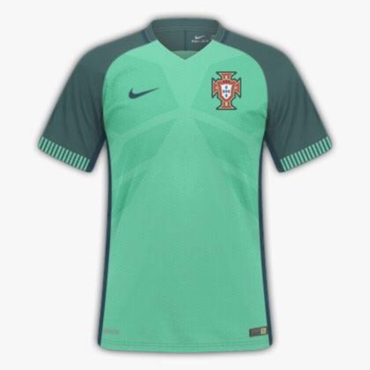 7b4b91251b Camisa Seleção Portugal 2016 2017 Uniforme 2