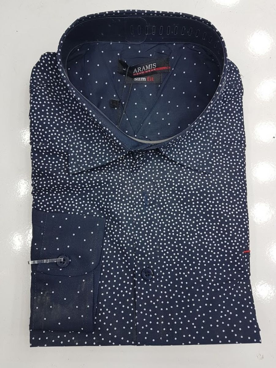 c8e6c57d9e camisa social aramis masculino manga longa - camisas aramis