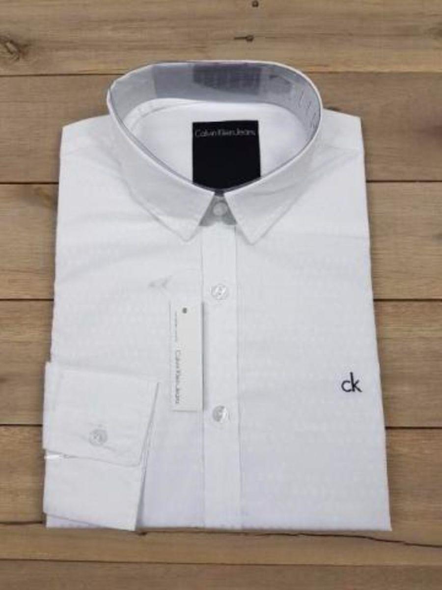 camisa social calvin klein original pronta entrega frete gratis - camisas  calvin-klein ec1197541b