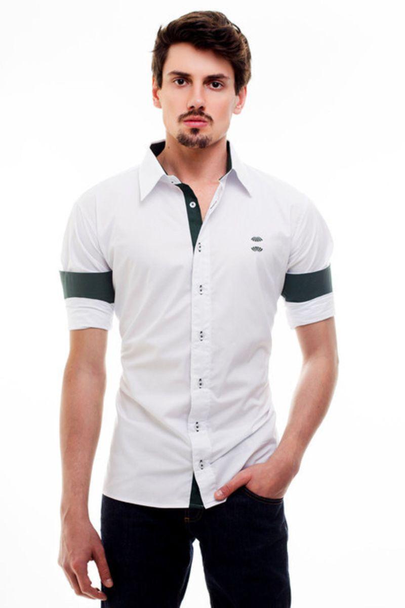 08dbe5779095b camisa social coritiba - hat trick - camisas hat trick