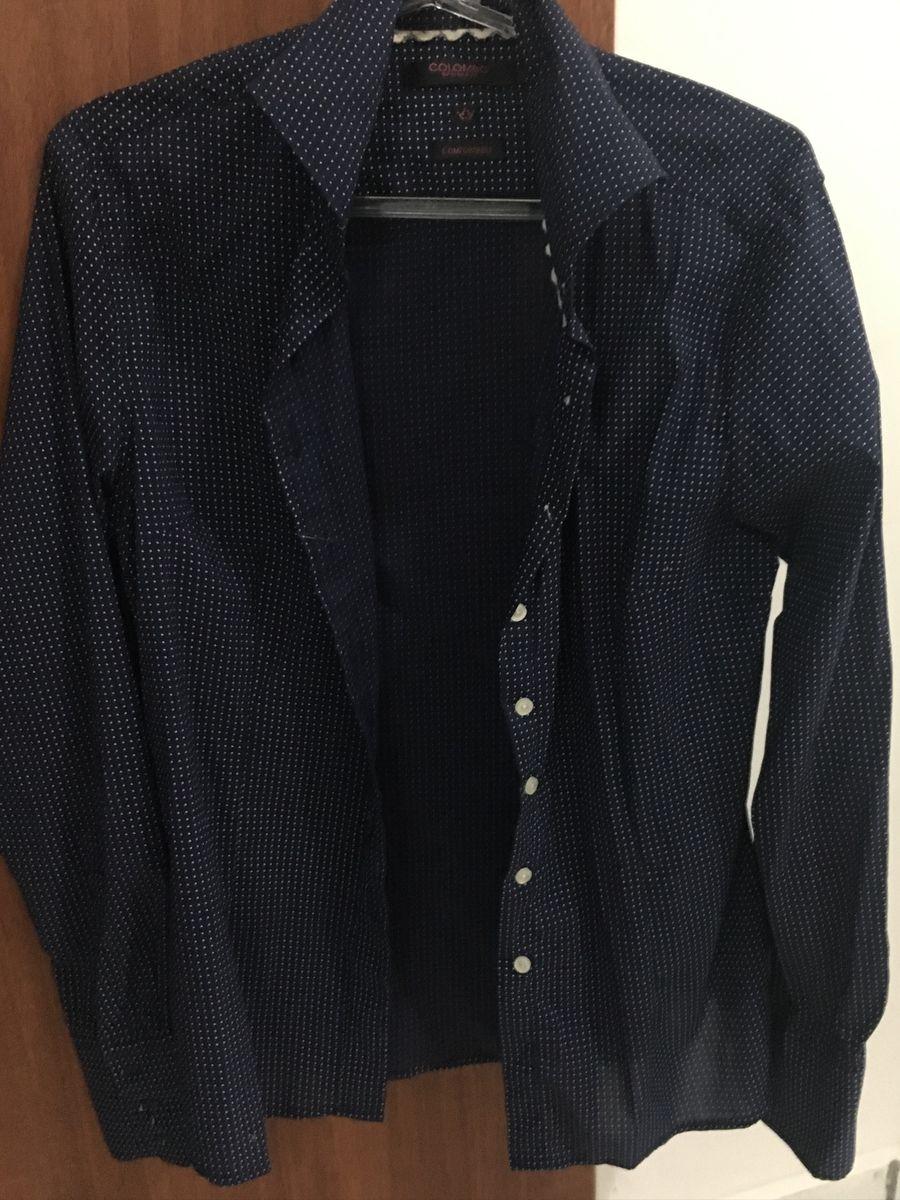 5b016e39a camisa social de poa - camisas camisaria colombo