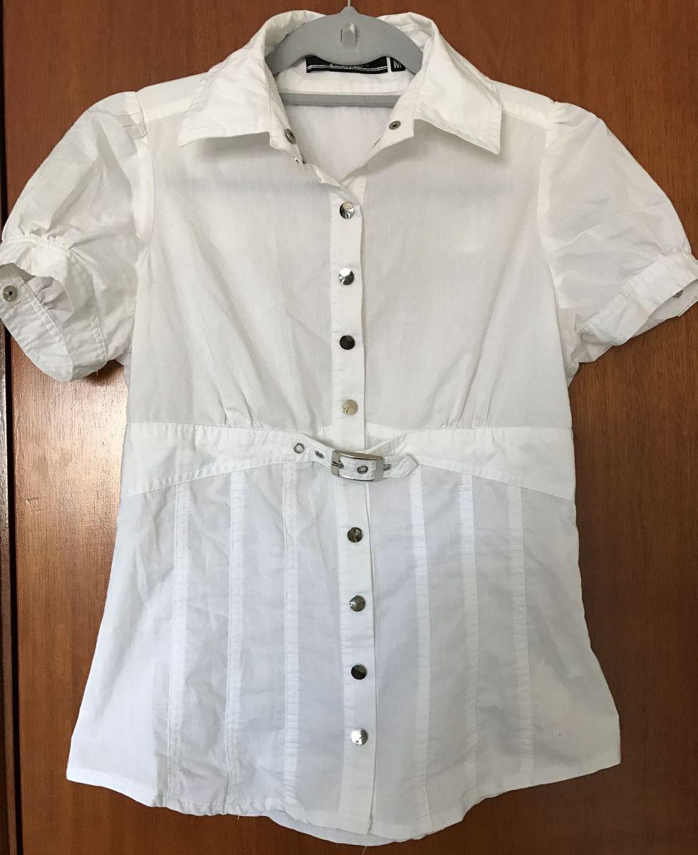 fc469a730 Camisa Social Feminina Branca Tam M | Camisa Feminina Usado 21904454 ...