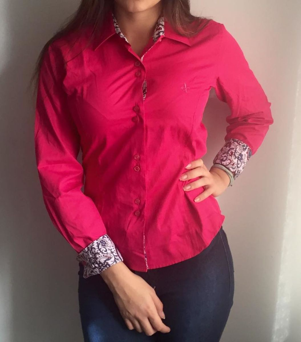 camisa social feminina dudalina - camisas dudalina 0da3a187d5cc2