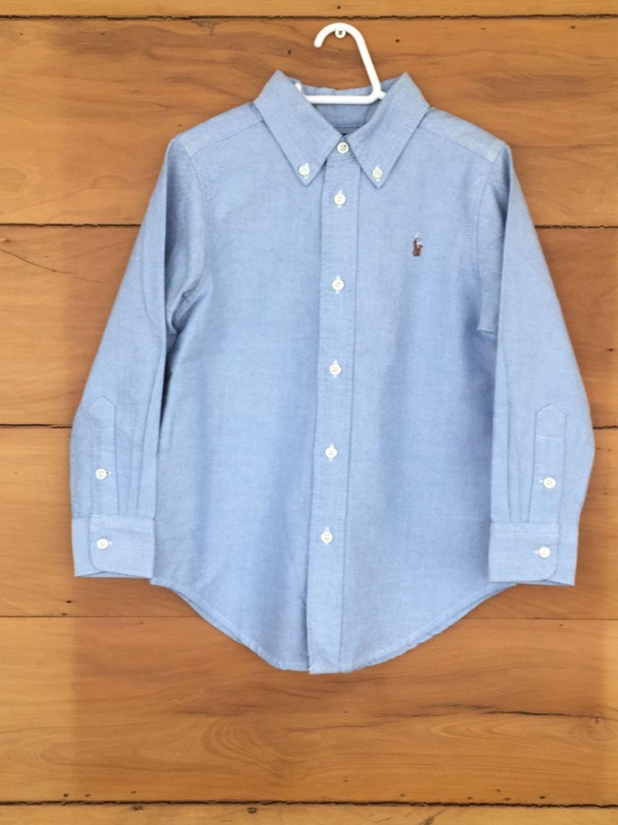 camisa social infantil manga comprida ralph lauren - menino ralph lauren 0383142d0ea