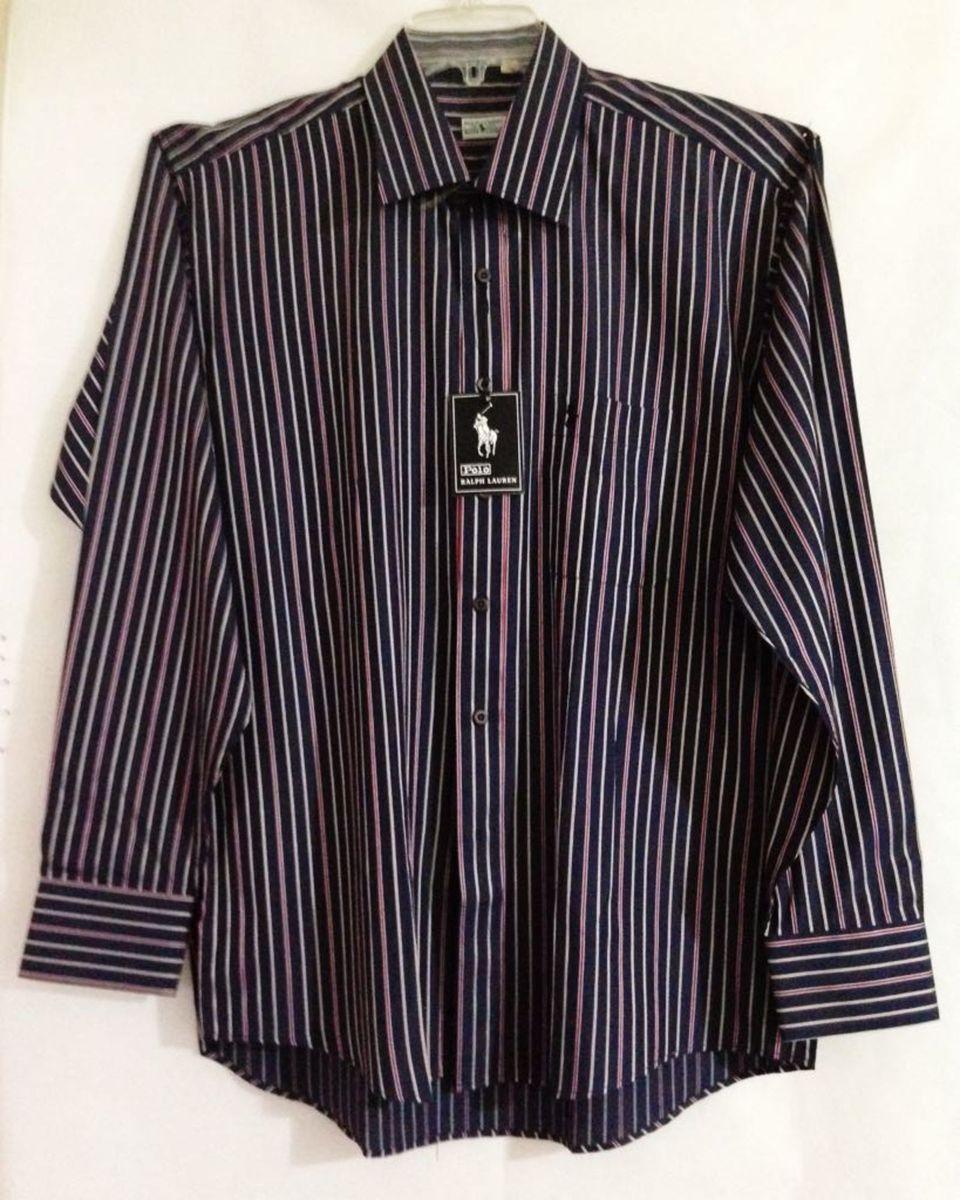 camisa social polo by ralph lauren tamanho 17!! - camisas polo by ralph  lauren a542d918fe854