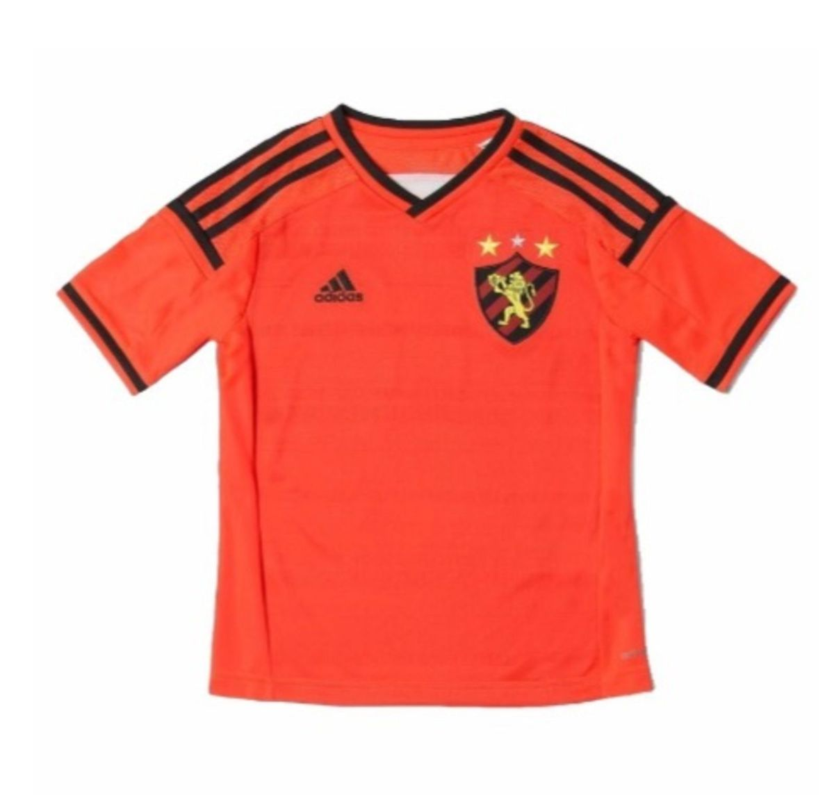 8d24b69208c67 camisa sport recife adidas infantil laranja - menino adidas