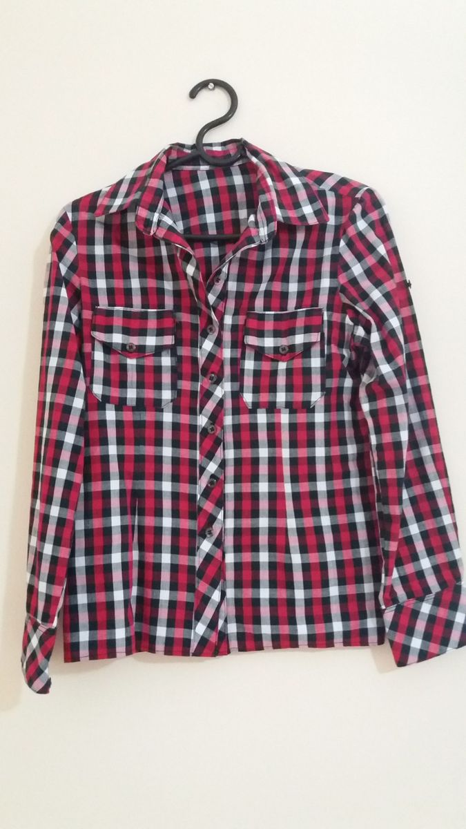 camisa xadrez - camisas sem-marca