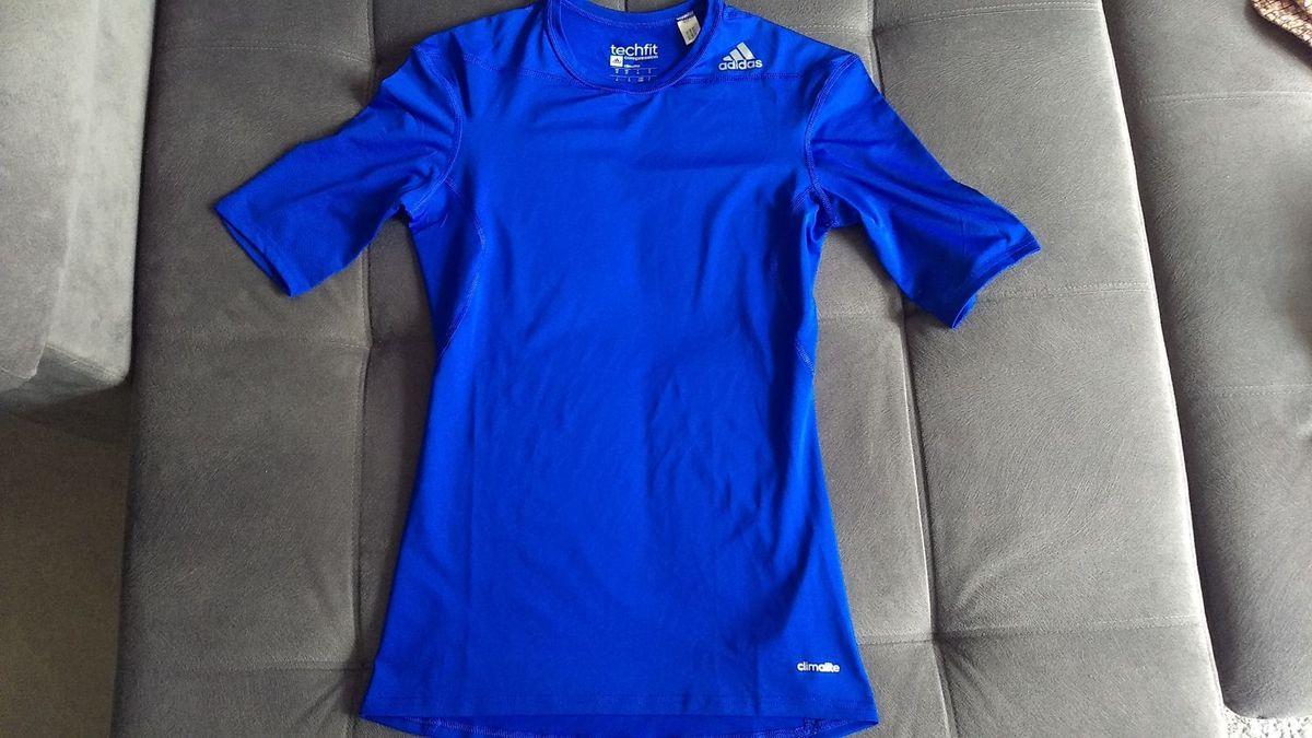 camiseta adidas compressão techfit base gfx - novinha! - camisas adidas 79411817a258a