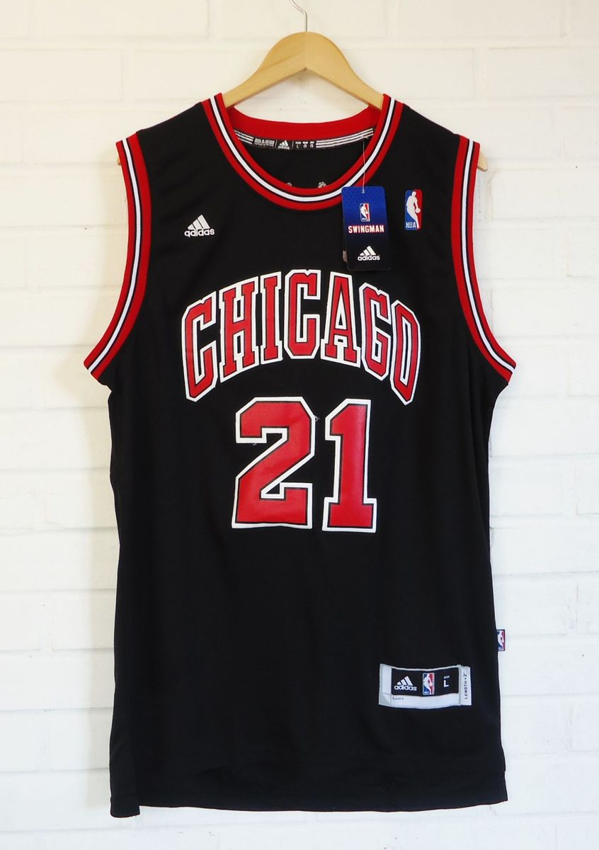 camiseta adidas de basquete chicago bulls - butler  21 - camisetas adidas 1ab8c491e21