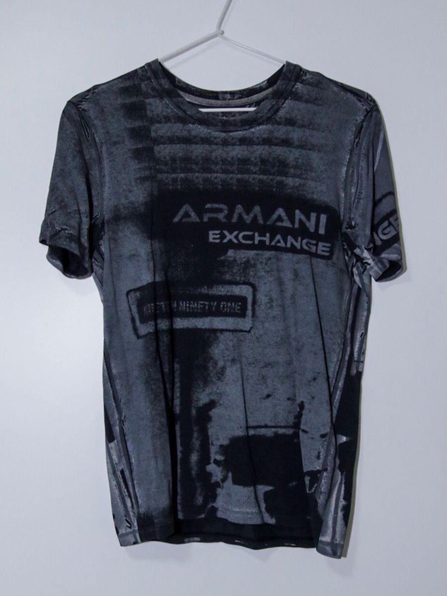 222ec0e940469 camiseta armani exchange original, tamanho p, comprada no exterior na loja  oficial da ax