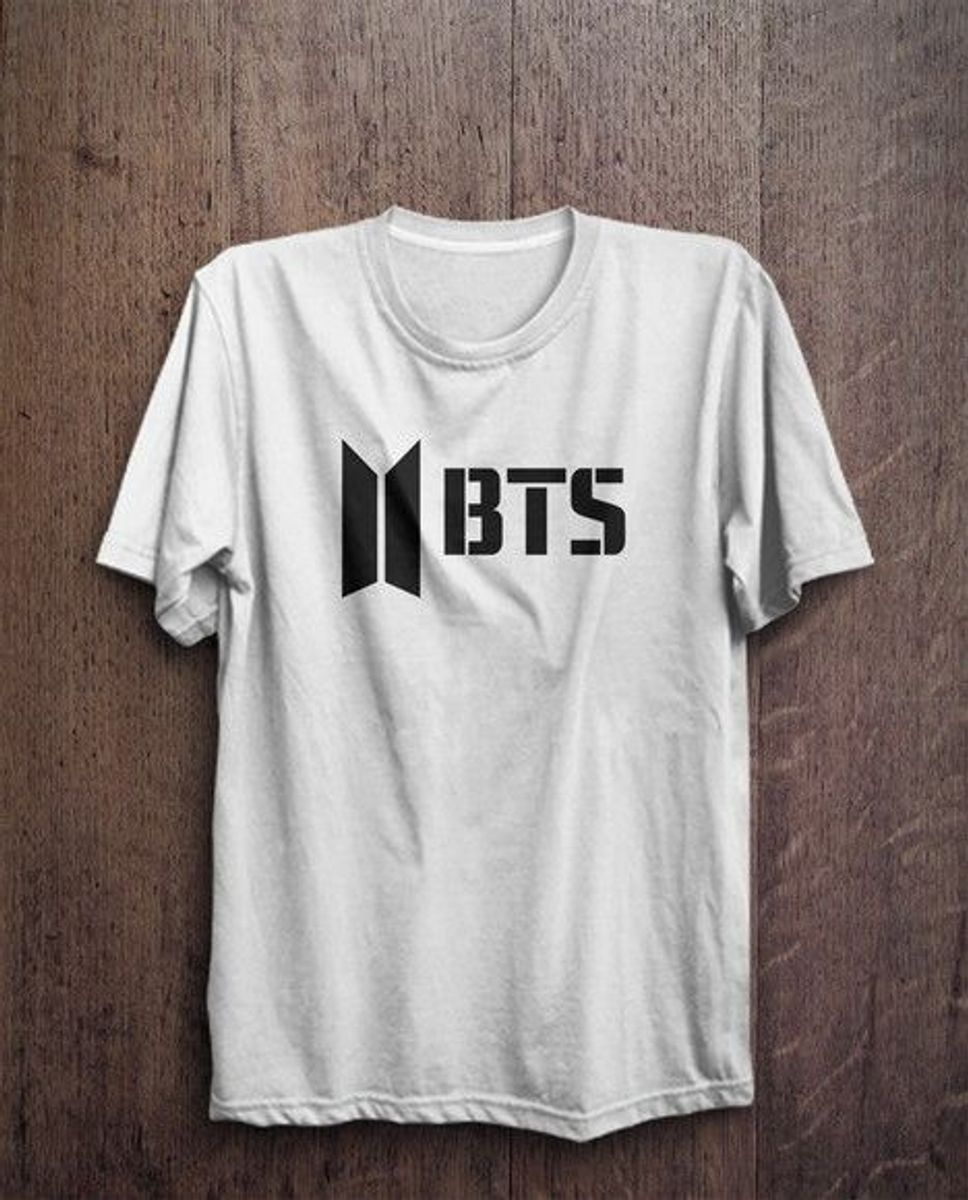camiseta banda bts grupo musical coreano baby look tbs p, m, g, gg - camisetas bts