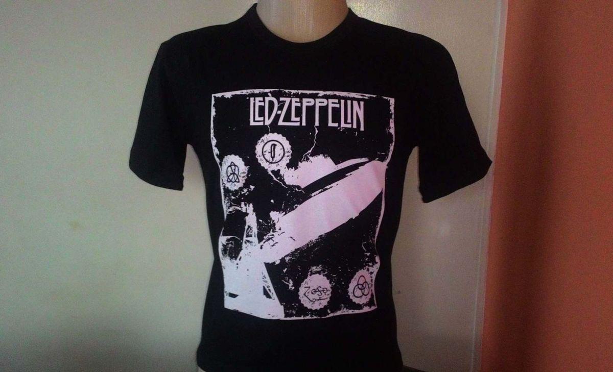 a4262bf40 camiseta bandas rock - led zeppelin - camisetas sem marca