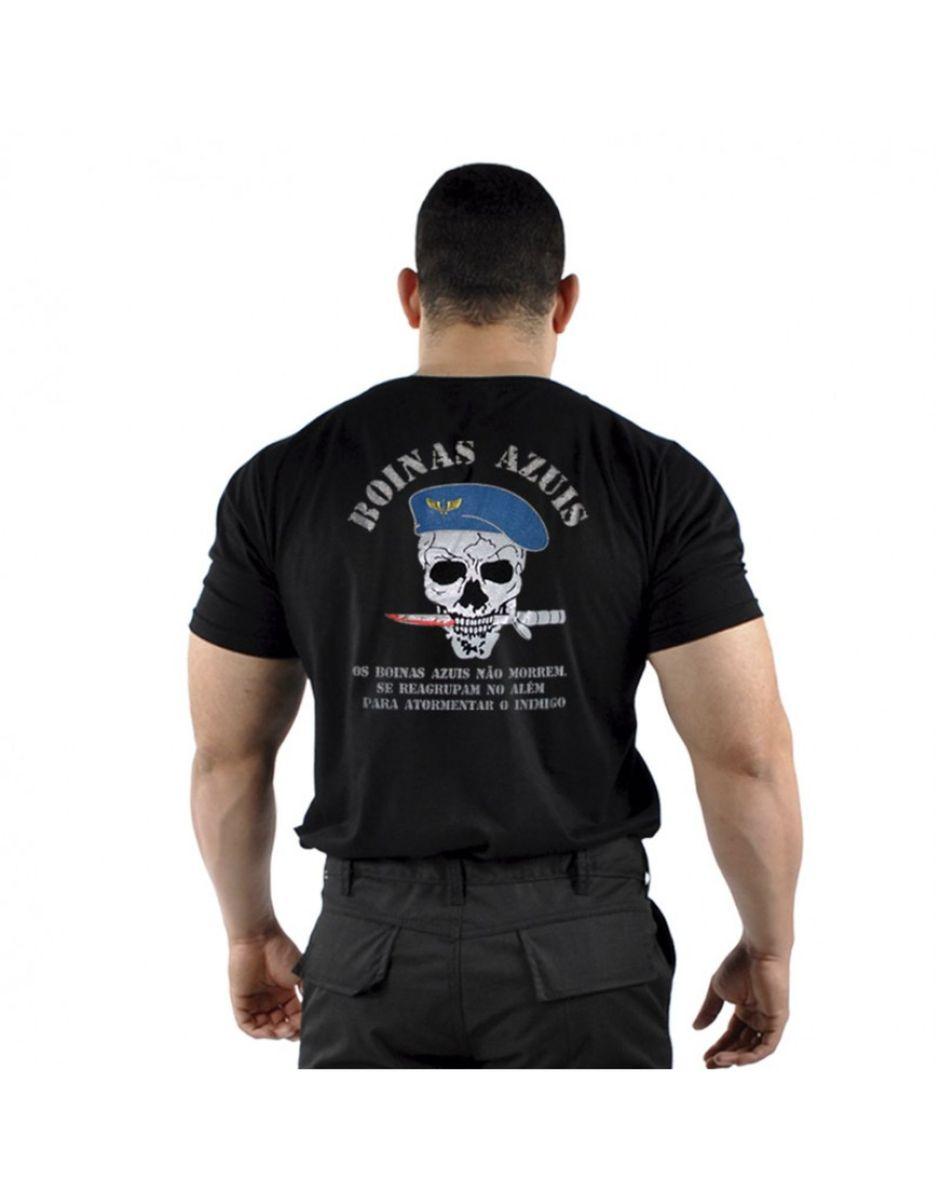 camiseta boinas azuis força aérea brasileira fab - camisetas mundo do  militar 359eace5f8a