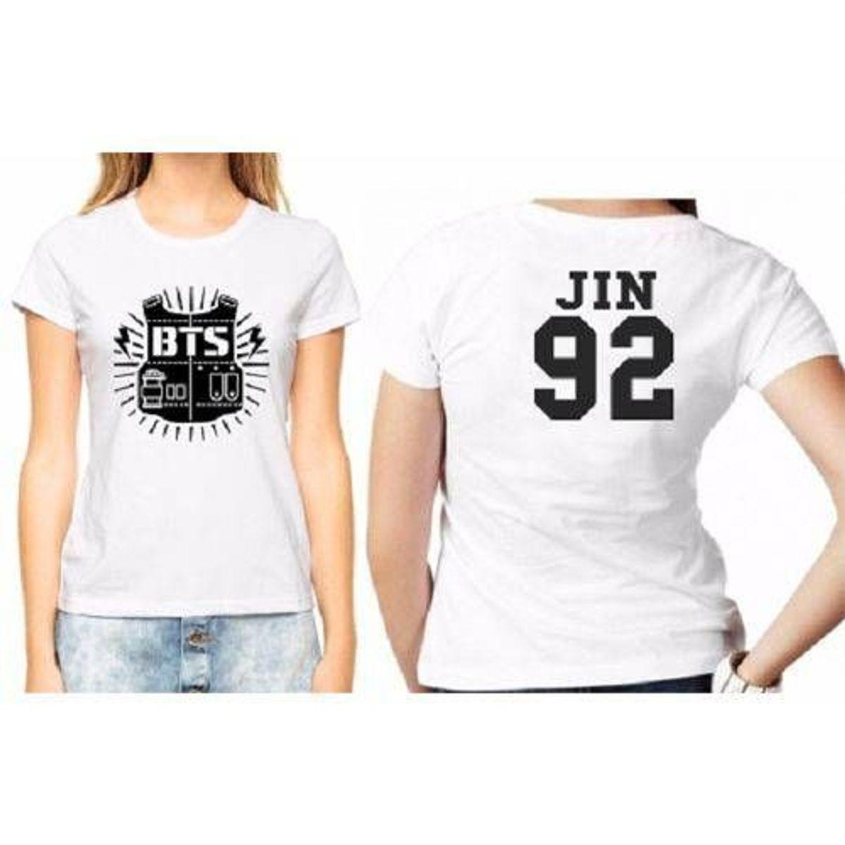 camiseta bts babylook bts banda coreana todos os tamanhos - camisetas bts