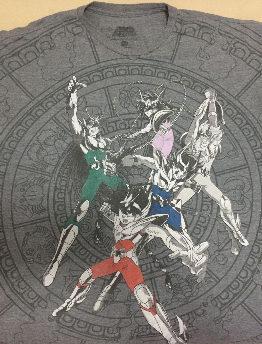 4659163a5 camiseta cavaleiro do zodíaco.piticas - camisetas piticas