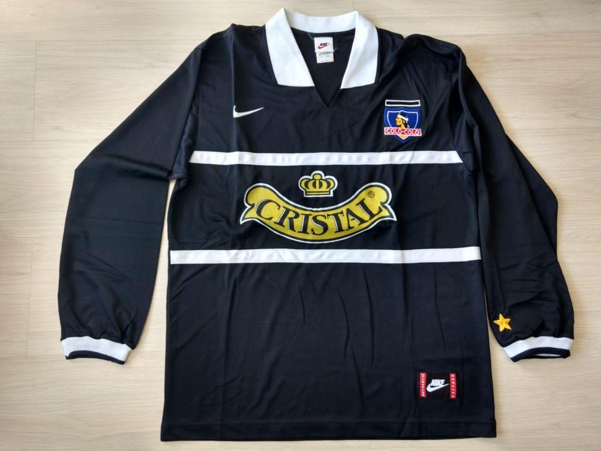 camiseta colo colo do chile década de 90 original! de colecionador  impecável uniforme  2 586b384b7b2b2