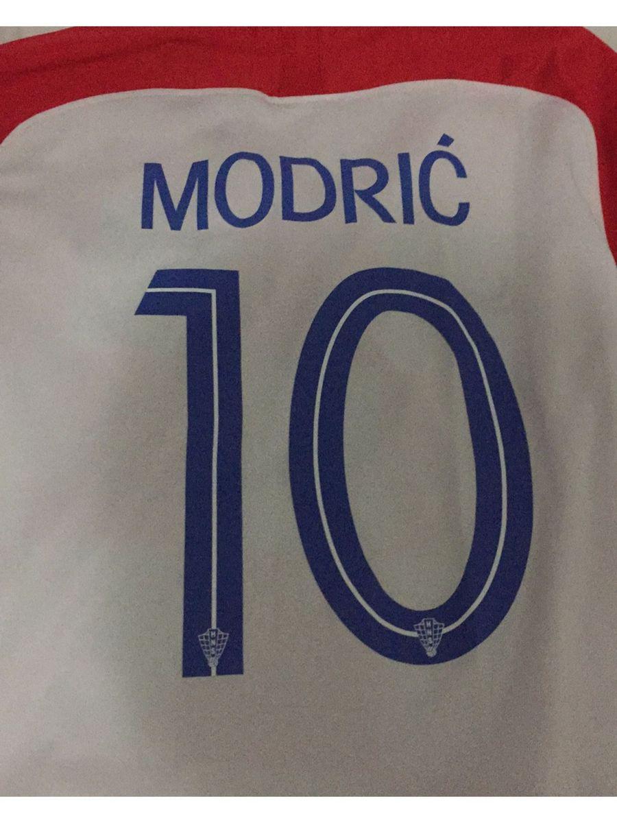 2cfe8d159b camiseta da croácia modric 2018 copa do mundo - camisetas nike