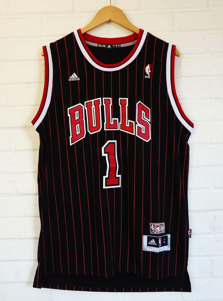 Camiseta de Basquete Nba Chicago Bulls Rose #1 - Camiseta Masculina Adidas Nunca Usado 2584330 ...